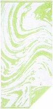 Handtuch Marble Egeria Farbe: Hellgrün