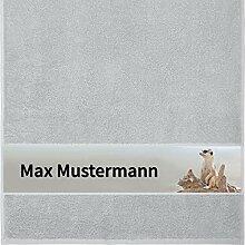 Handtuch mit Namen - personalisiert - Motiv Tiere