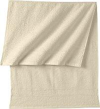 Handtuch New Uni, beige (30/50 cm))