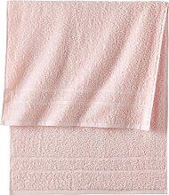 Handtuch New Uni Deluxe, rosa (30/50 cm))