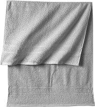 Handtuch New Uni, grau (30/50 cm))