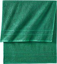Handtuch New Uni, grün (100/160 cm))