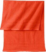 Handtuch New Uni, orange (50/100 cm))