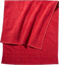 Handtuch New Uni, rot (30/50 cm))