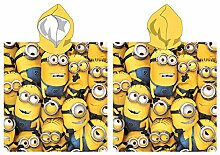 Handtuch Poncho Meer Minions Band 55x110 100%