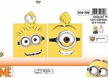 Handtuch Poncho Meer Minions Eye 55x110 100%