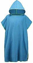 Handtuch Poncho Unisex, das Robe-Tuch-Poncho-mit