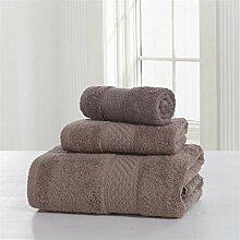 Handtuch Set 3 Stück Baumwolle Badetücher Set 12