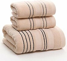 Handtuch Set 3pcs Minimalismus saugfähige