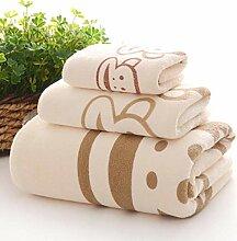 Handtuch Set Cartoon Kinder Baumwolle Saugfähigen
