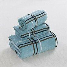 Handtuch Set Lattice Cotton Waschlappen Handtuch