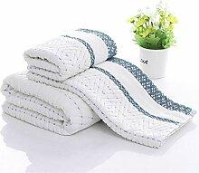 Handtuch Set Set von 3 saugfähigen weichen