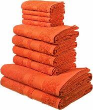 Handtuch Set, Vanessa, my home (Set) 10tlg.-Set
