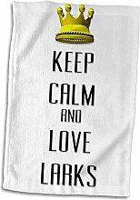 """Handtuch / Sporthandtuch mit Aufschrift """"Keep"""