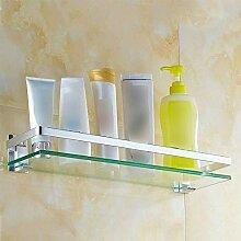 Handtuchhalter Bad Glas Badewanne Single Layer