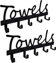 Handtuchhalter Badezimmer Handtuchhaken Türhaken