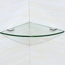 Handtuchhalter Dreieck Dusche Glas Ecke Rack