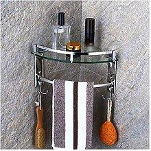 Handtuchhalter Duschglas Eckregale Wandmontage