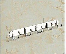 Handtuchhalter Edelstahl Bad Handtuchhalter Hardware Anhänger Bad Aktivität Falte Regal Badezimmer Set , A