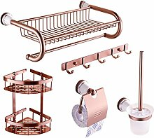 Handtuchhalter/Handtuchhalter/Handtuchhalter/Raum Aluminium Bad Racks/Badezimmer Zubehör-Set-F