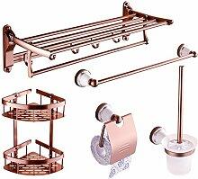 Handtuchhalter/Handtuchhalter/Handtuchhalter/Raum Aluminium Bad Racks/Badezimmer Zubehör-Set-S