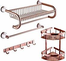 Handtuchhalter/Handtuchhalter/Handtuchhalter/Raum Aluminium Bad Racks/Badezimmer Zubehör-Set-D