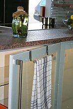Handtuchhalter Handtuchstange Geschirrtuchhalter zum Einhängen aus Edelstahl