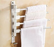 Handtuchhalter Rotierende Bad-Accessoires / Raum Aluminium-Metall-Anhänger / Aktivitäten Handtuchhalter / Badetuch bar Badezimmer Handtuchhalter ( Farbe : 3# )