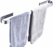 Handtuchhalter Single,OHNE Bohren Aluminium Bad