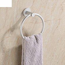 Handtuchring Space Aluminium-Bad-Accessoires im Bad Handtuchring