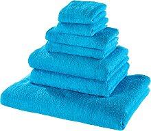 Handtuchset 7-tlg., blau