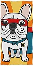 Handtücher 30x15in, Super Französisch Bulldogge