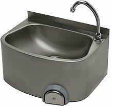 Handwaschbecken 480x350 mm, Edelstahl