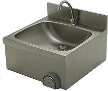 Handwaschbecken 500x500x235 mm, Edelstahl