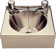 Handwaschbecken Edelstahl ,inkl Ablaufgarnitur
