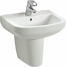 Handwaschbecken luCanto , 50 cm , Weiß ,