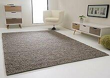 Handweb Teppich Lech - Jutekern mit gewalkter