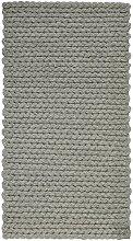 Handwebteppich in Grau ca.80x150cm