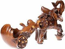 Handwerk kleine Elefant Weinregal Wohnzimmer