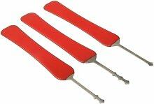 Handwerkzeuge, Werkzeugsatz 3 x die lockpicks