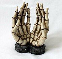 Handyhalter Smartphonehalter Skelett-Hände angekettet Gothic