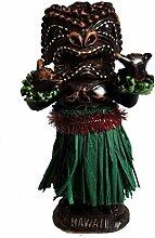 Hang Loose Wackel Hula Figur Tiki Frau Wackelfigur