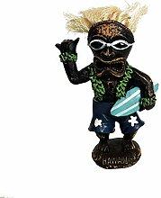 Hang Loose Wackel Hula Figur Tiki Mann Wackelfigur