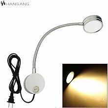 Hangang Flexible Plug Wired LED Wandleuchte, 5W