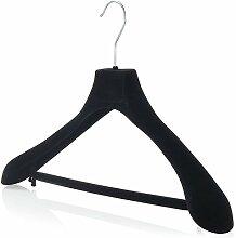 Hangerworld 15 Samtbeflockte 45cm Kleiderbügel