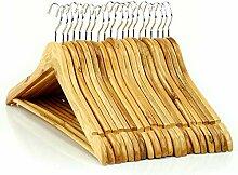 Hangerworld 20 Basics Holz Kleiderbügel 45cm