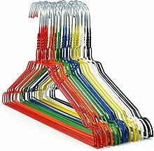 HANGERWORLD 50 beschichtete Draht-Kleiderbügel in verschiedenen Farben, 40cm