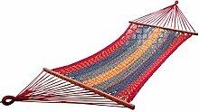Hangit Portable Thick Canvas Beach Outdoor Seil Hängematte Swing Garten Be
