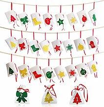 Hangnuo Weihnachten Adventskalender 2019, 24 Tage