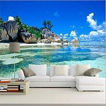HANHUAN 3D Mural Tapete Schlafzimmer Wohnzimmer Tv